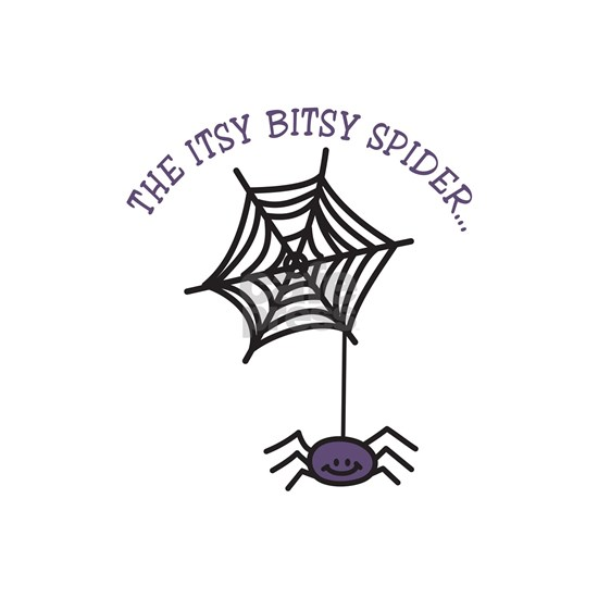 THE ITSY BITSY SPIDER... Wall Decal by ConcordCollections