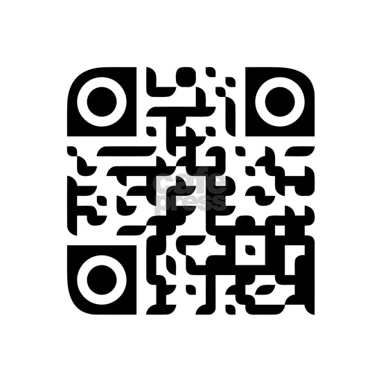 Large Penis Qr Code Wall Sticker By Gaz Cafepress