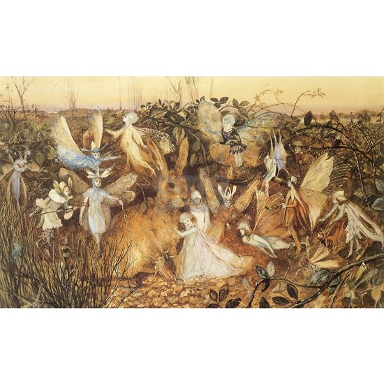 A Rabbit Among the Fairies by Fitzgerald