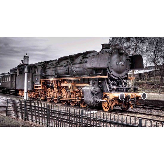 Vintage Locomotive Steam Train