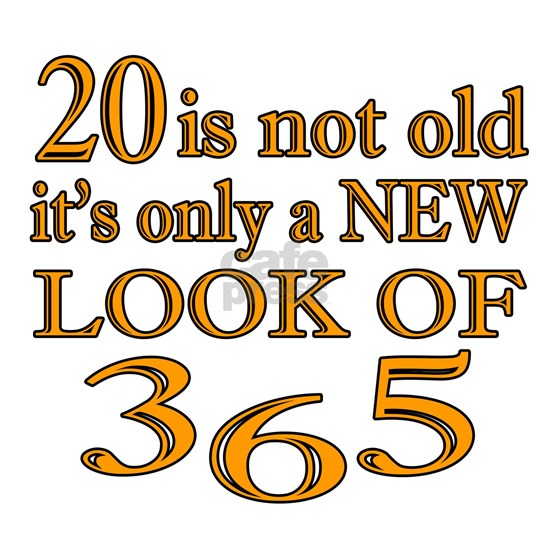 20 Is New Look Of 365