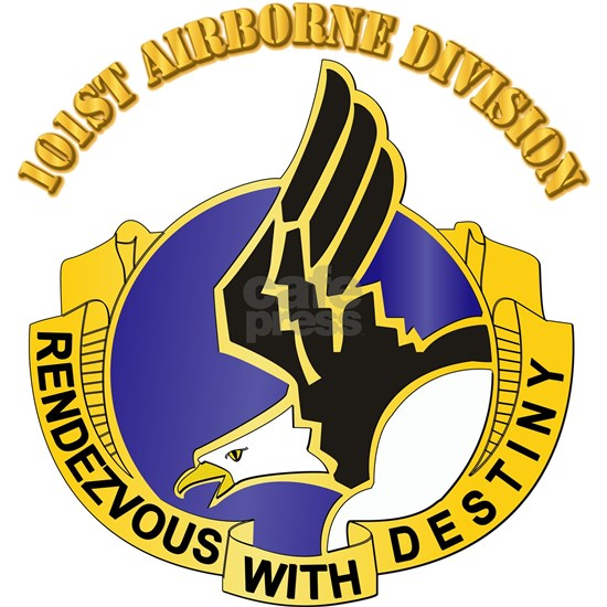 DUI - 101st Airborne Division with Text