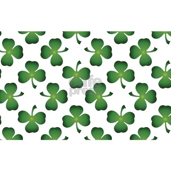 Lucky Shamrock Green Pattern
