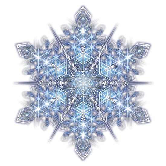 Snowflake Designs - 023 - transparent shadowed