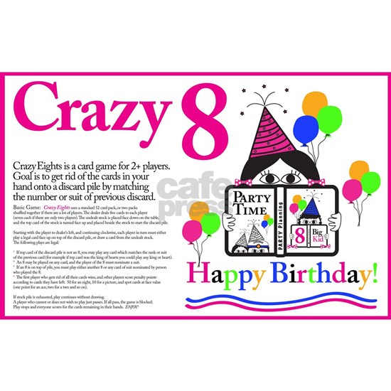 Crazy 8 Birthday