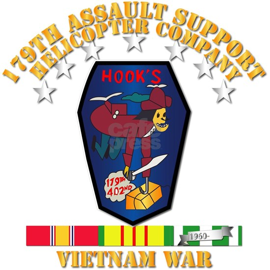 179th Assault Support Helicopter Co - VN War SVC R