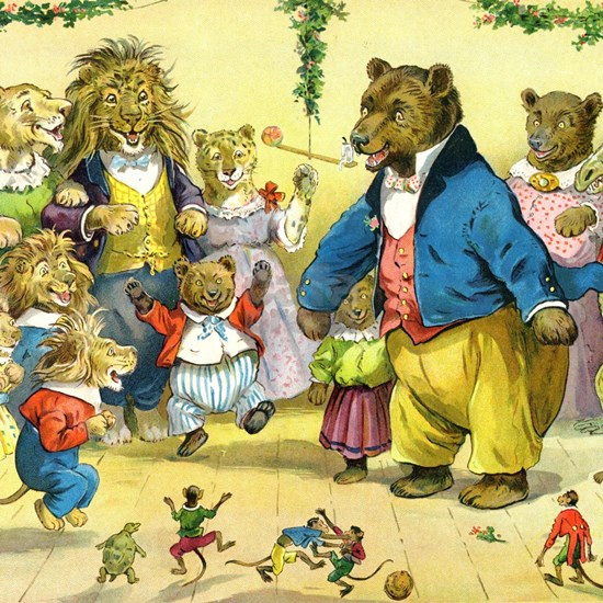 Christmas Dance in Animal Land
