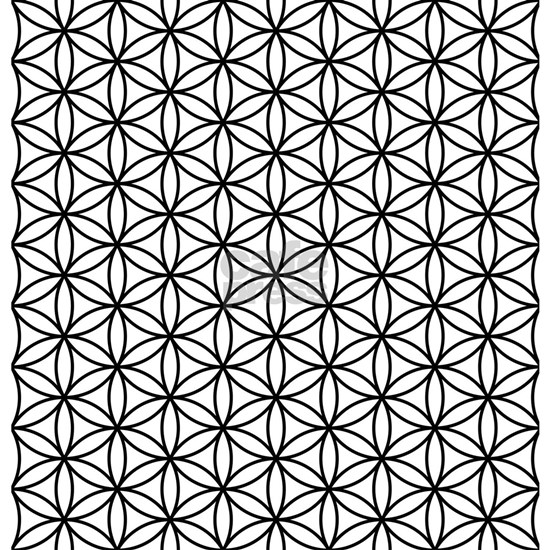 Flower of life pattern