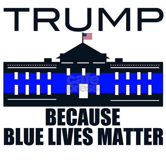 Trump men in blue