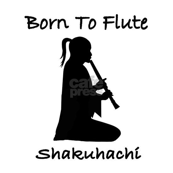 Born To Flute Shakuhachi Player