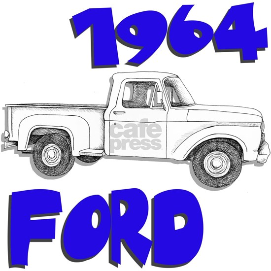 64 ford truck