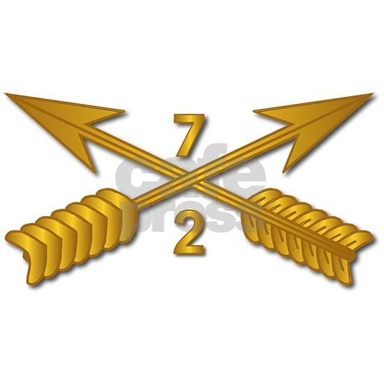 T-Shirt - SOF - 2nd Bn 7th SFG Branch wo Txt