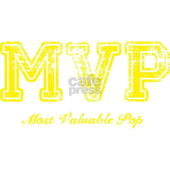 Most Valuable Pop – MVP – Canary Yellow