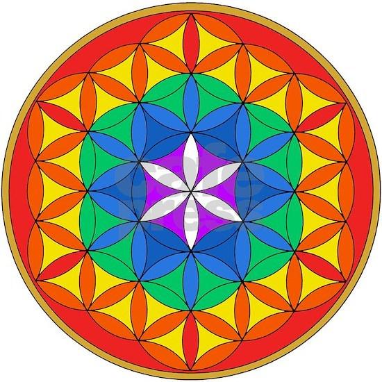 Flower of Life Chakra5