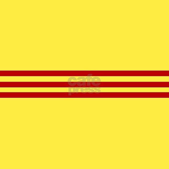 Square South Vietnamese Flag