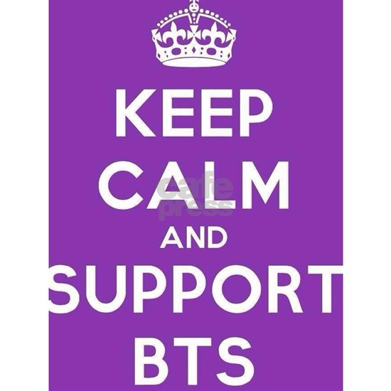 Keep calm and support BTS