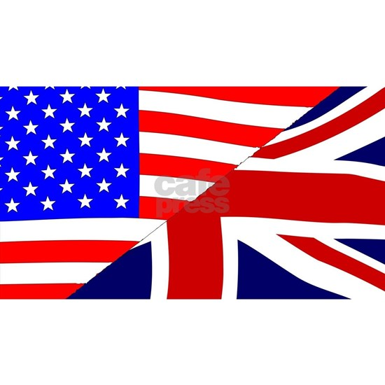 USA and UK Flags