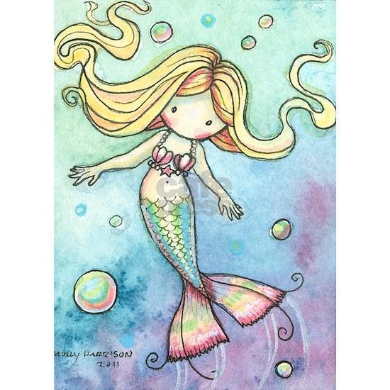 aceo cutie mermaid 2