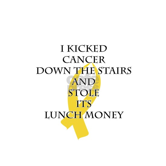 Cancer Bully (Gold Ribbon)