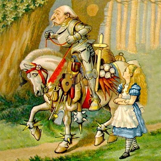 Alice  the WHite Knight_SQ