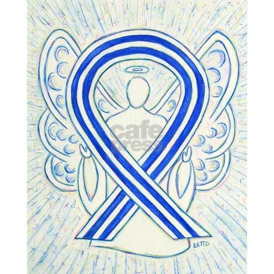 ALS Awareness Ribbon Angel