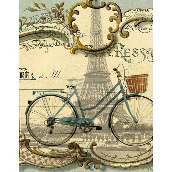 paris bike eiffel tower