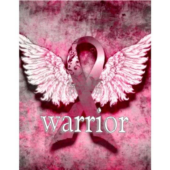 Pink Ribbon Warrior By Vetro Designs