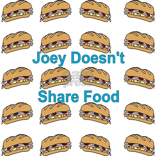 FreindsTV Joey Doesn't Share Food