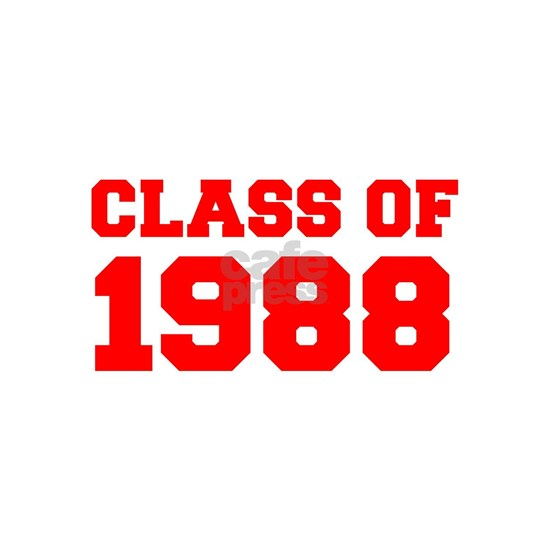 CLASS OF 1988-Fre red 300