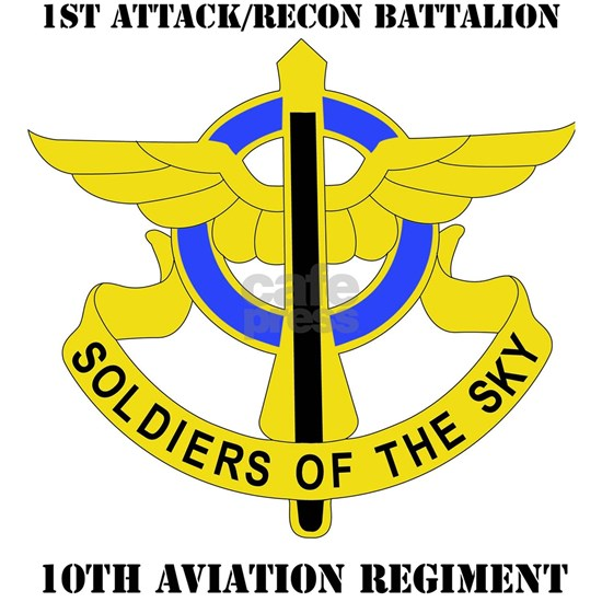 DUI - 1-10th Aviation Regiment with Text