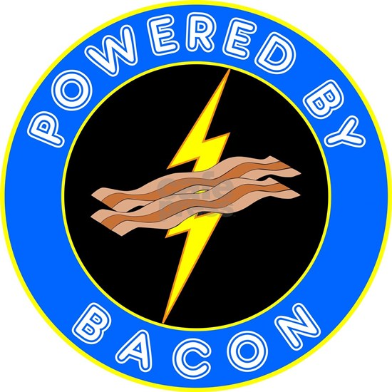 powered by bacon chip 8