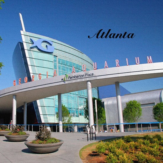 Atlanta_4.25x4.25_Tile Coaster_GeorgiaAquarium.pn