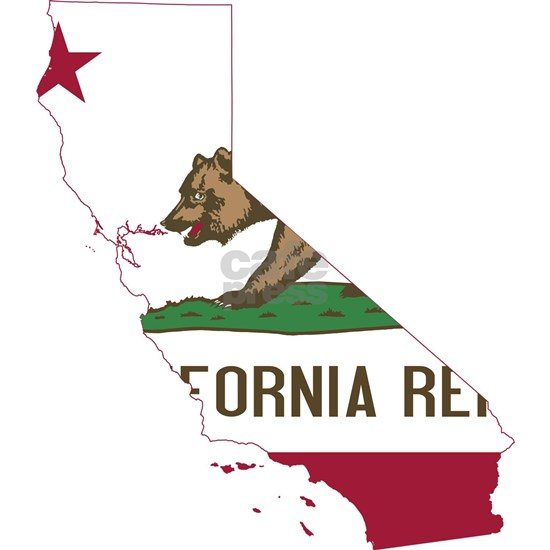 CALIFORNIA FLAG and STATE