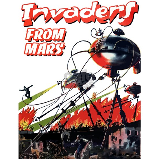 invaders from mars scifi vintage
