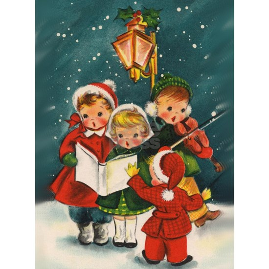 Vintage Christmas children