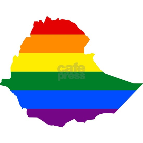 Gay Pride Flag Ethiopia