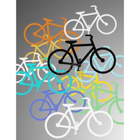 Colored Bikes Design