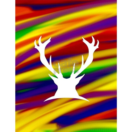 Buck gay rainbow art