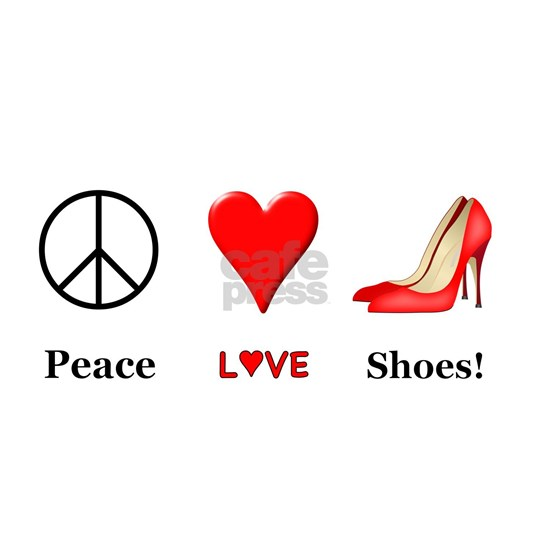 Peace Love Shoes