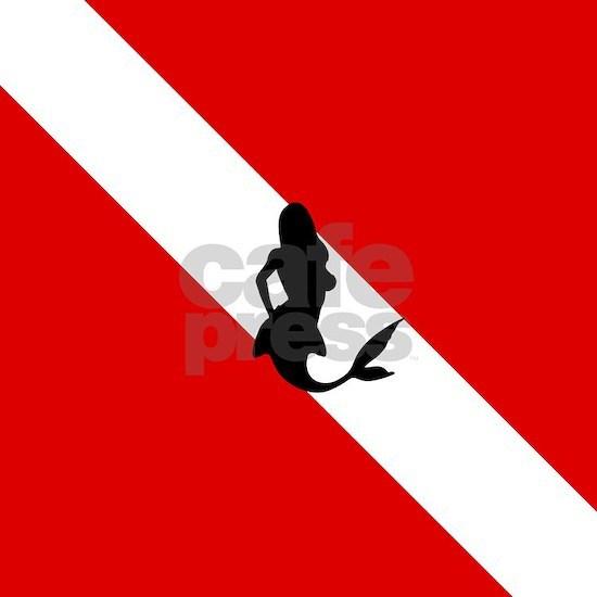 Diving Flag: Mermaid