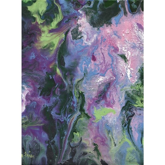 Wisteria Abstract
