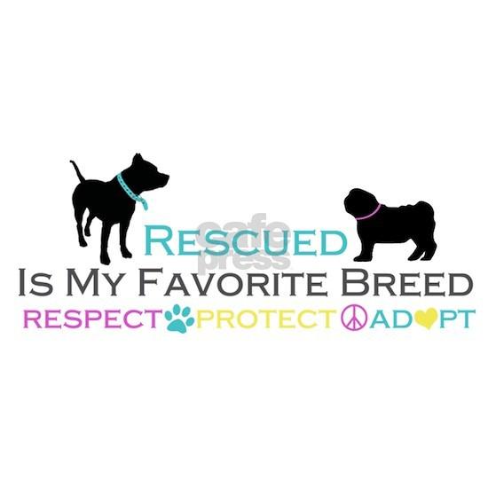 Rescued Is Favorite Breed