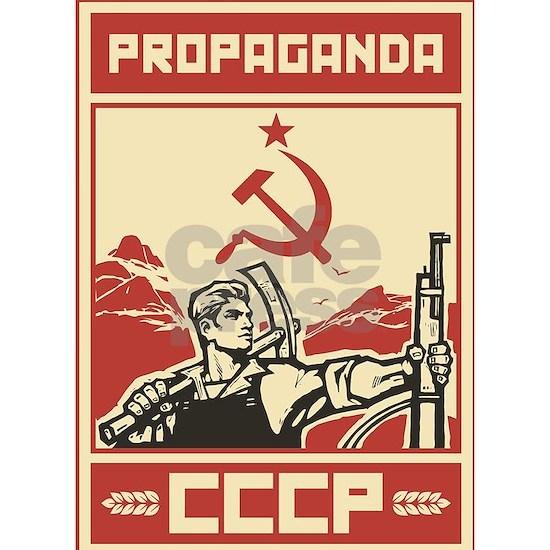 Soviet vintage propaganda
