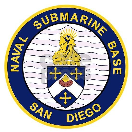 NAVAL SUBMARINE BASE San Diego CA Military Patch.