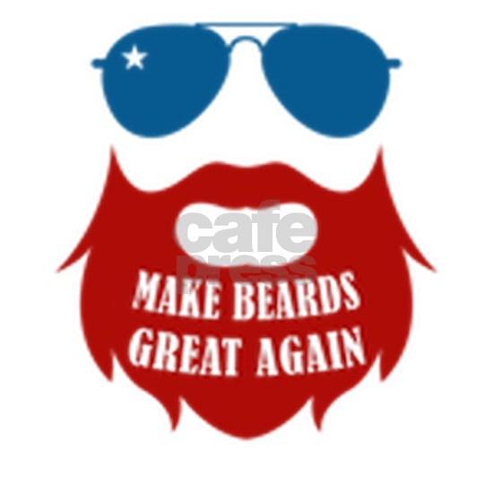 Mens Make Beards Great Again Beard designs for Him