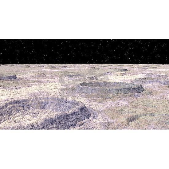 Surface of Callisto, a Jovian moon