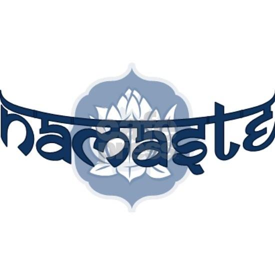 Namaste Lotus - Blue