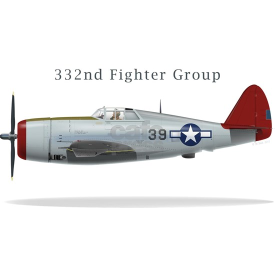 332 Fighter Group P-47C