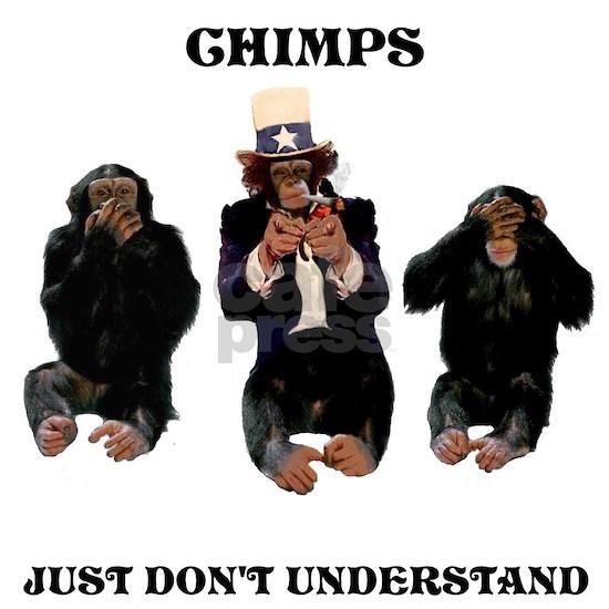 chimps just dont understand