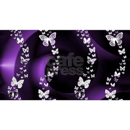 Purple Butterfly Swirl